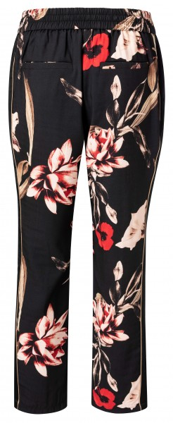 YAYA Trousers with floral print