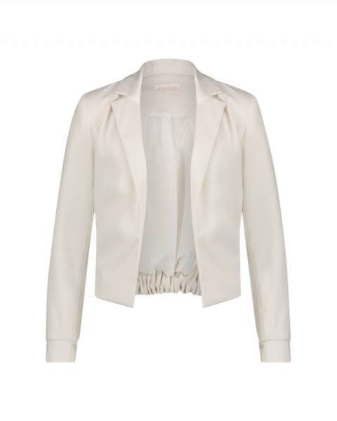 FREEBIRD Teddie jacket off white